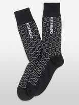 Calvin Klein Geometric Tile Socks