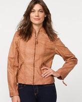 Le Château Leather-Like Moto Jacket