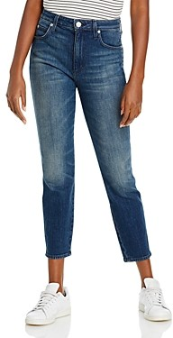 Amo High Rise Stix Cropped Skinny Jeans in Girls Night Out