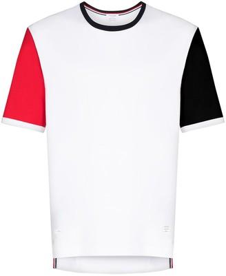 Thom Browne Ringer panelled T-shirt