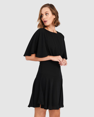 Forcast Jade Cape Dress