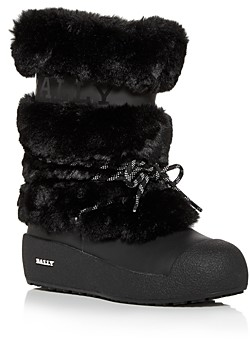 Bally Women's Galy Faux Fur Boots