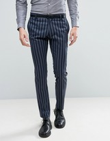 Selected Skinny Stripe Suit Pants