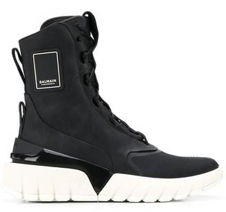 Balmain B-Army high-top sneakers