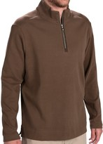 Tommy Bahama New Eversuede Shirt - Zip Neck, Long Sleeve (For Men)
