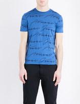 Armani Jeans Script cotton-jersey t-shirt