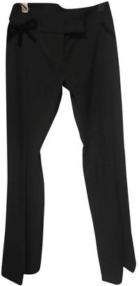 Karen Millen Black Cloth Trousers for Women