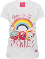 M&Co Shopkins character t-shirt and stickers