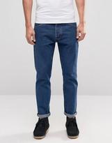 Wrangler Boyton Mid Wash Tapered Jeans