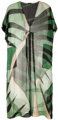 OSKLEN Light Tropical midi dress