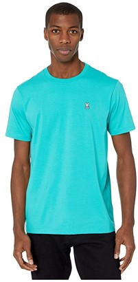 Psycho Bunny Classic Crew Neck T-Shirt (Ceramic) Men's T Shirt