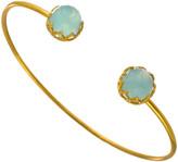 Heather Hawkins Sleeping Beauty Dome Gemstone Bangle