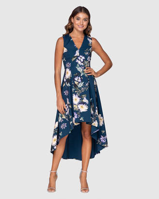 Pilgrim Green Dream High Low Dress