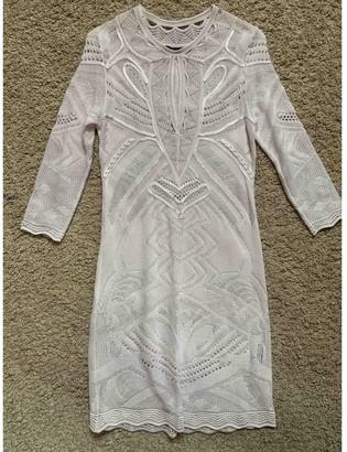 Roberto Cavalli White Lace Dress for Women