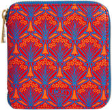 Liberty of London Designs Iphis Small Zip Wallet - Red