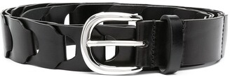 Isabel Marant Chain-Effect Leather Belt