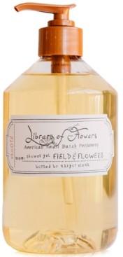 Library of Flowers Field & Flowers Shower Gel, 16-oz.