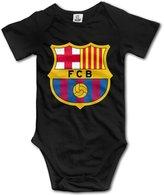 Kakakaoo Barcelona Logo Babys Bodysuit Outfits