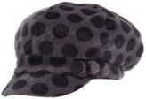 Magid Gray Polka Dot Cadet Cap