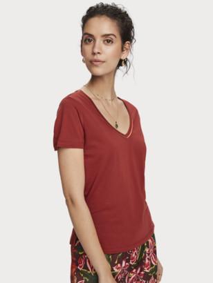 Scotch & Soda V-Neck T-Shirt | Women