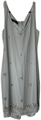 Jenny Packham Blue Silk Dresses