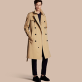 Burberry The Westminster - Long Heritage Trench Coat , Size: 54, Yellow