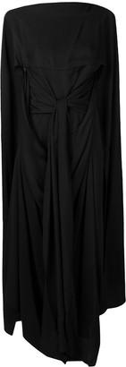 J.W.Anderson Cape Long Dress