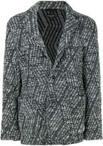 Engineered Garments cable knit blazer