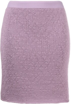 Bottega Veneta Knitted Cashmere Skirt