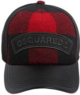 DSQUARED2 Plaid Baseball Cap