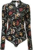 Wolford floral print bodie