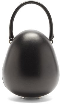 Simone Rocha Egg Leather Tote Bag - Black