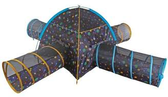 Pacific Play Tents Kids Glow In The Dark Galaxy Junction Play Tent And Tunnel Combo
