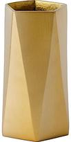 west elm Brass Jewellery Vase, Large