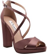 Nina Marylyn Satin Platform Dress Sandals