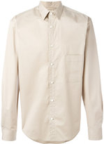 Lemaire chest pocket shirt - men - Cotton/Spandex/Elastane - 46