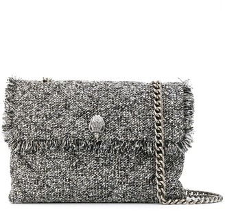 Kurt Geiger tweed Kensington X bag
