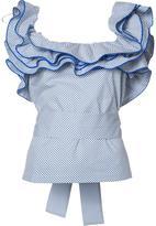 Rosie Assoulin ruffled collar blouse - women - Cotton - XS