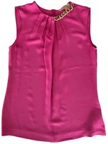 Michael Kors Pink Silk Top for Women