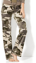 New York & Co. Lounge - Velour Pant - Camouflage Print