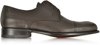 a. testoni A.Testoni Alo Leather Derby Shoe