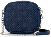 Urban Expressions Navy Chambers Quilted Crossbody