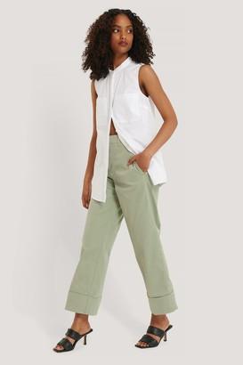 NA-KD Turn-up Cuff Pants
