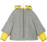 Fay Kids layered hood jacket