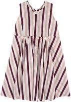 Marni Striped cotton poplin dress