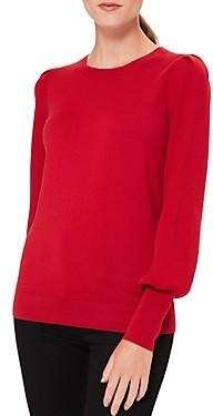 Hobbs London Harriet Blouson Sleeve Sweater