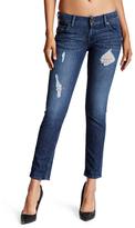 Hudson Blue Distressed Union Jack Collin Skinny Jeans