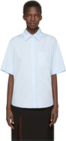 Lanvin Blue Logo Shirt