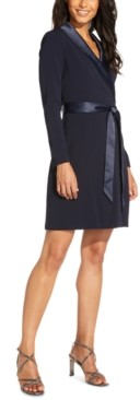 Adrianna Papell Tuxedo Sheath Dress