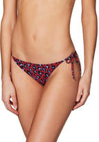 Stella McCartney Leopard Tie Side Bikini